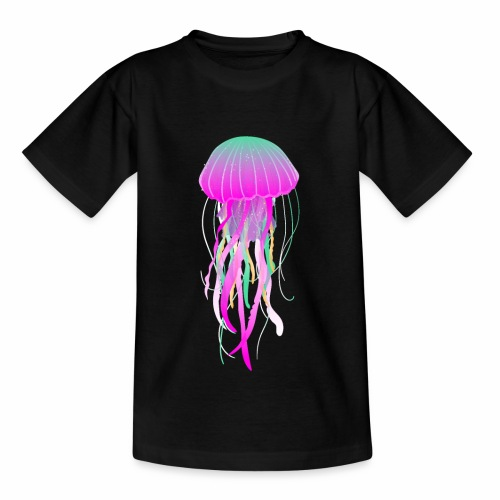 jellyfish electric - Kinder T-Shirt