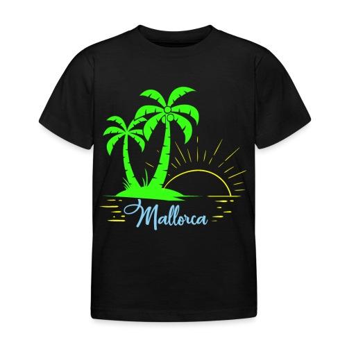 Die goldenen Sonnenuntergänge von Mallorca - Kinder T-Shirt
