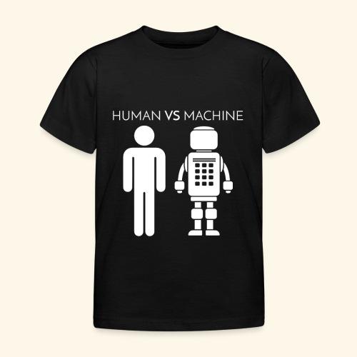 Human VS Machine - Maglietta per bambini