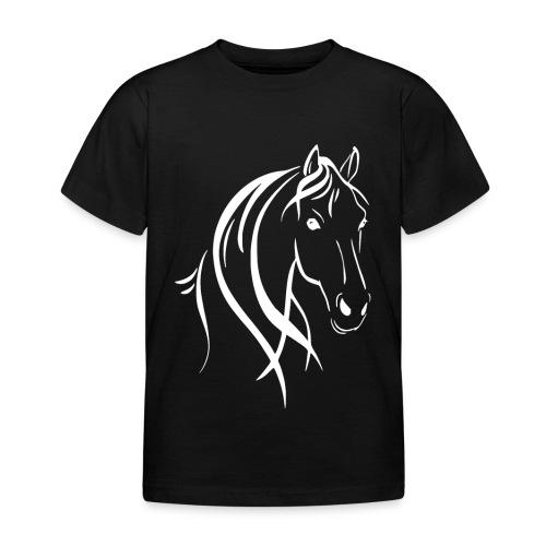 Pferdekopf - Kinder T-Shirt