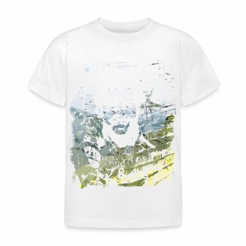 Pablo Escobar distressed - Kinder T-Shirt