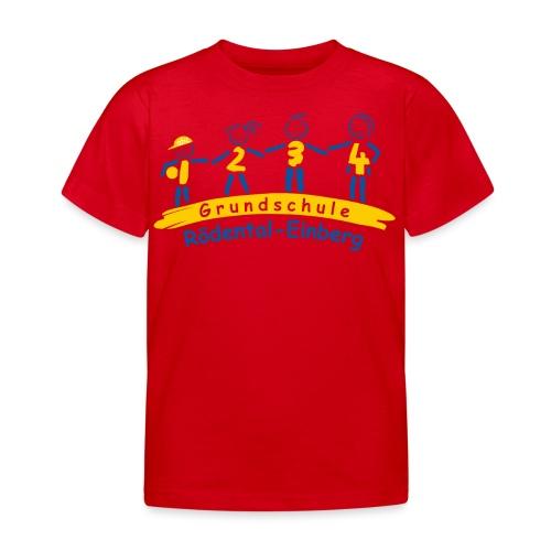 VORNE schule logo Kopie png - Kinder T-Shirt