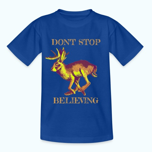 Wolpertinger lives - Kids' T-Shirt