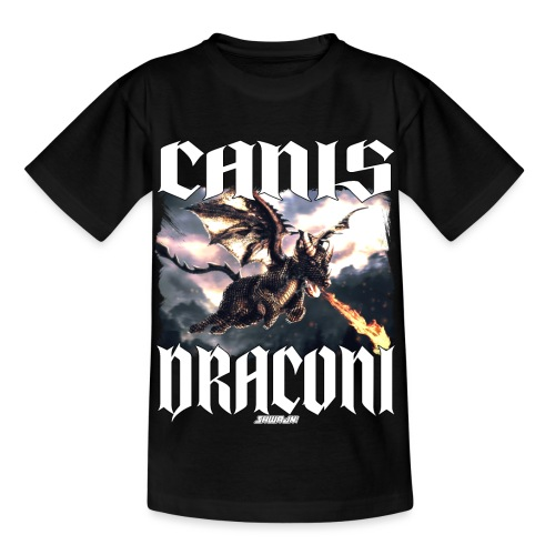 Canis Draconi - Kinderen T-shirt