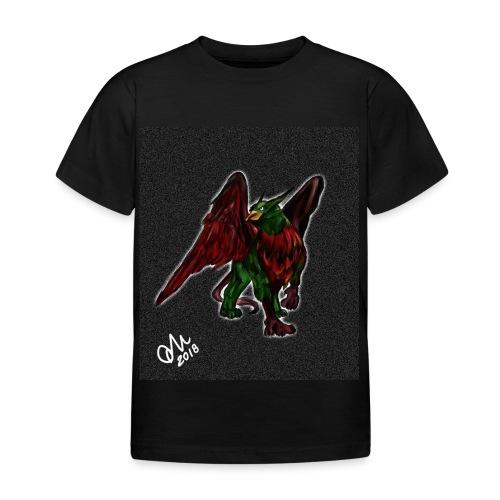 Grifone verde-rosso - Maglietta per bambini
