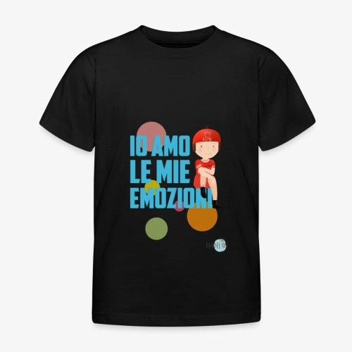 io amo le mie emozioni - Maglietta per bambini