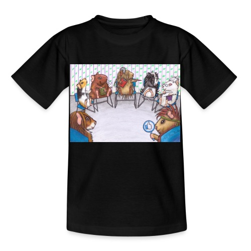 Meeri Suchthilfe Gruppe komplett - Kinder T-Shirt