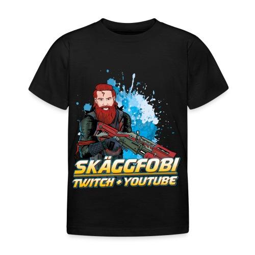 Skäggfobi Gubbe - T-shirt barn