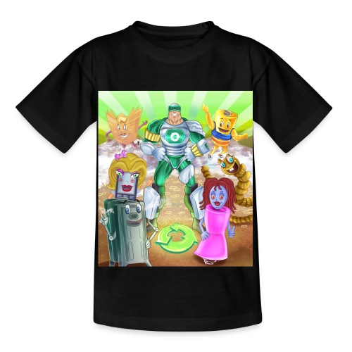 Captain Reece Icle - Kids' T-Shirt