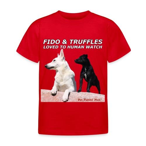 Fido and Truffles - Kids' T-Shirt