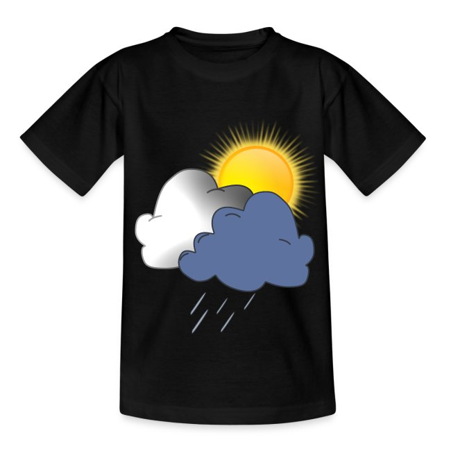 Wolken Sonne Regen Herbst