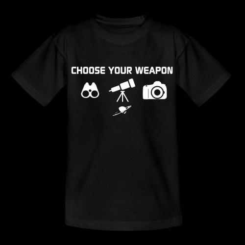 Choose your weapon - T-shirt Enfant