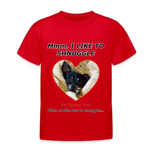 Mmm, I Like To Shnuggle - Kids' T-Shirt