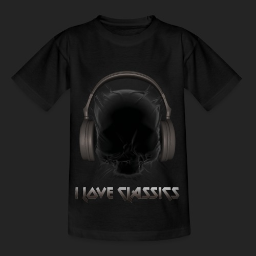 I love classics Black - T-shirt Enfant