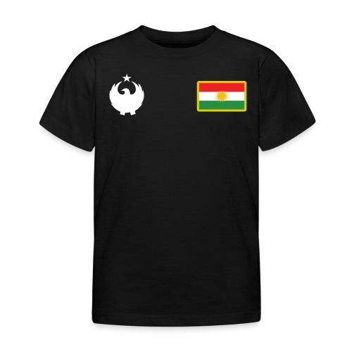 Maillot 2018/2019 du Kurdistan : Blanc - T-shirt Enfant