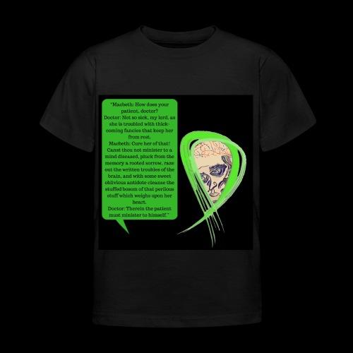Macbeth Mental health awareness - Kids' T-Shirt