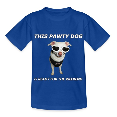 Pawty Dog - Kids' T-Shirt