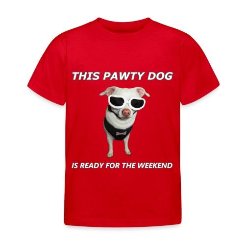 Pawty Dog - Kids' T-Shirt