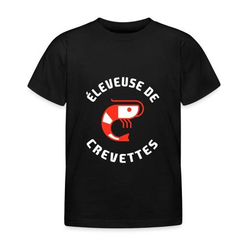 ÉLEVEUSE DE CREVETTES CRS - T-shirt Enfant