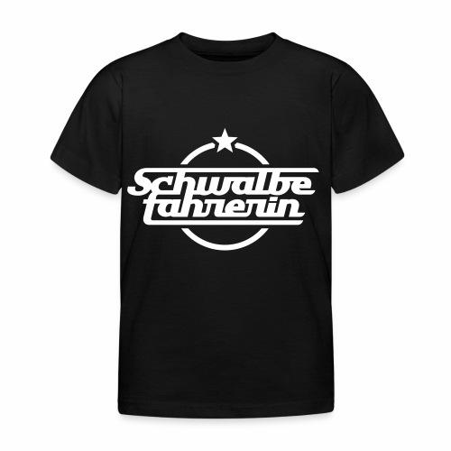 Schwalbefahrerin - Kids' T-Shirt