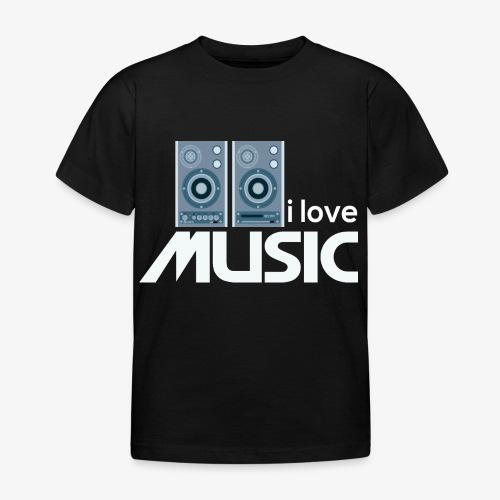 Amo la música 02 - Camiseta niño