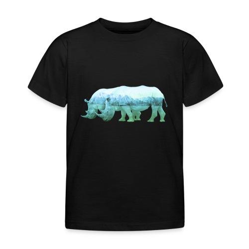 RHINOS, DIE NASHÖRNER IN DEN ALPEN - Kinder T-Shirt