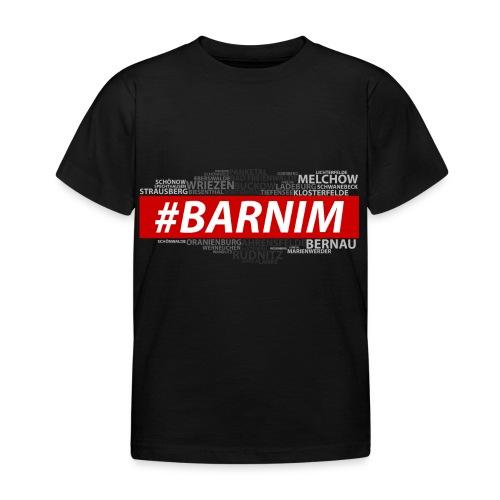 HASHTAG BARNIM - Kinder T-Shirt