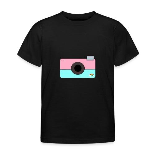 Djoeke de vlogster camera - Kinderen T-shirt