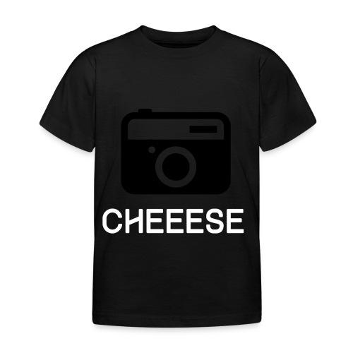 Cheese Fotograf Kamera - Kinder T-Shirt