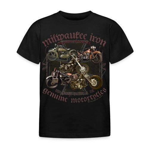 Milwaukee Motorcycles Choppers Biker - Kinder T-Shirt