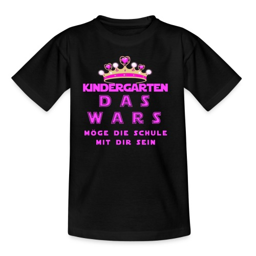 das wars mädchen3 png - Kinder T-Shirt