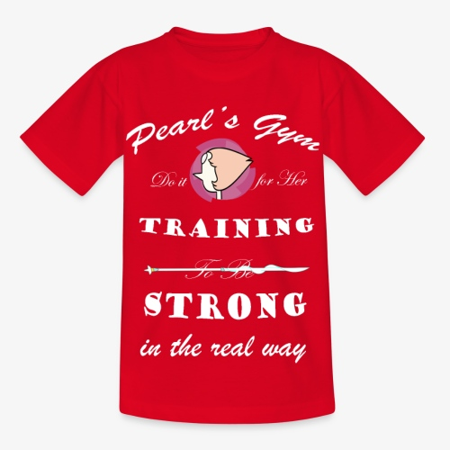 Strong in the Real Way - Maglietta per bambini