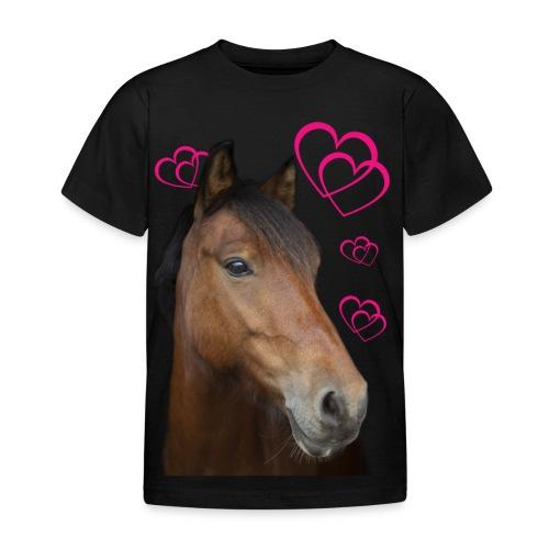 Hästälskare (Musse) - T-shirt barn