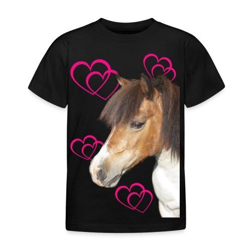 Hästälskare (Bella) - T-shirt barn