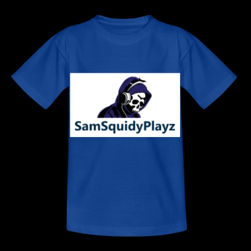 SamSquidyplayz skeleton - Kids' T-Shirt