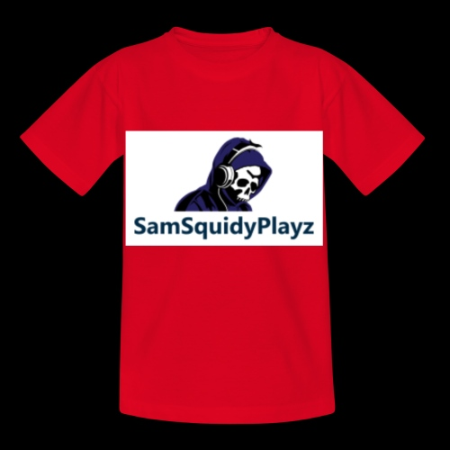 SamSquidyplayz skeleton - Kids' T-Shirt