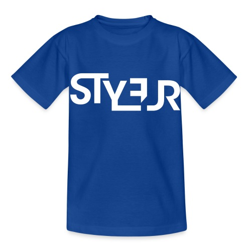 styleur logo spreadhsirt - Kinder T-Shirt
