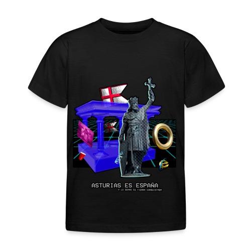 Don Pelayo (Vaporwave) - Camiseta niño
