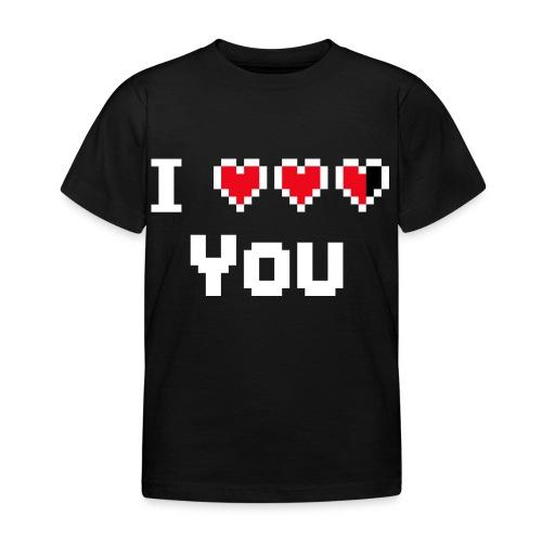 I pixelhearts you - Kinderen T-shirt