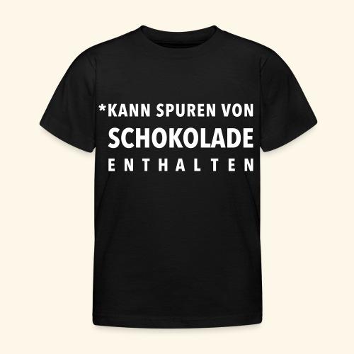 Schokoliebe - Kinder T-Shirt