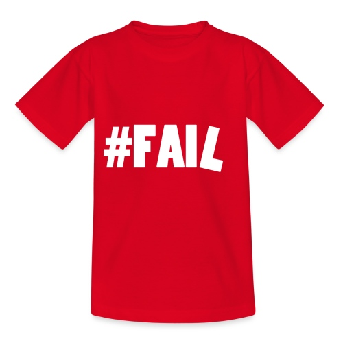 FAIL / White - T-shirt Enfant