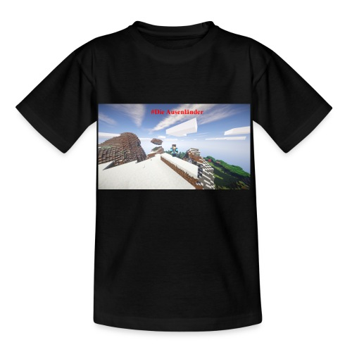 Minecraft Ausenländer - Kinder T-Shirt