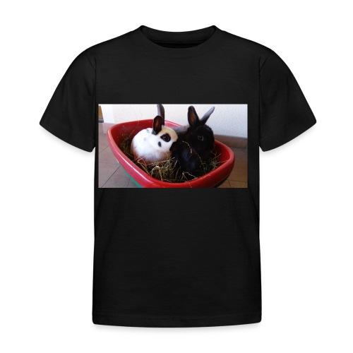 Warme Sachen mit dem Hasenlogo - Kinder T-Shirt
