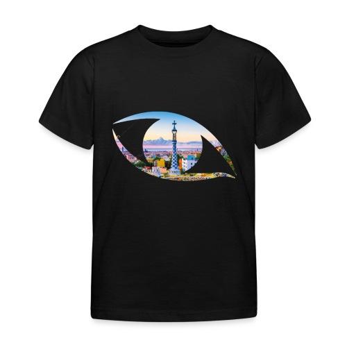 The eye of Barcelona - Kinderen T-shirt