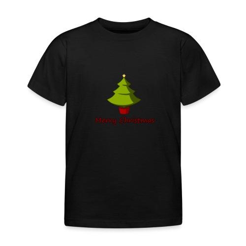 Merry Christmas Design von HoHoHo Merch - Kinder T-Shirt