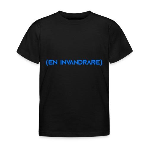 (en invandrare) - T-shirt barn