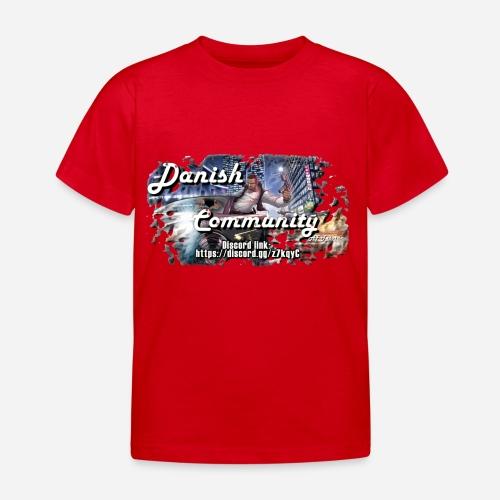Dansih community - fivem2 - Børne-T-shirt
