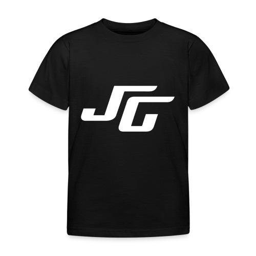 JG Logo weiss - Kinder T-Shirt