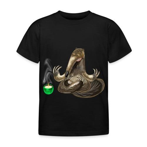 Meditating Ant eater design / print - Kids' T-Shirt