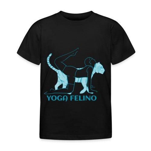 t shirt design YOGA FELINO - Maglietta per bambini